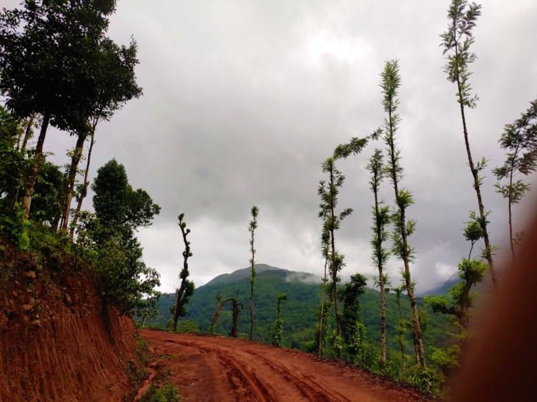 En Route Kudremukh Trek Starting Point
