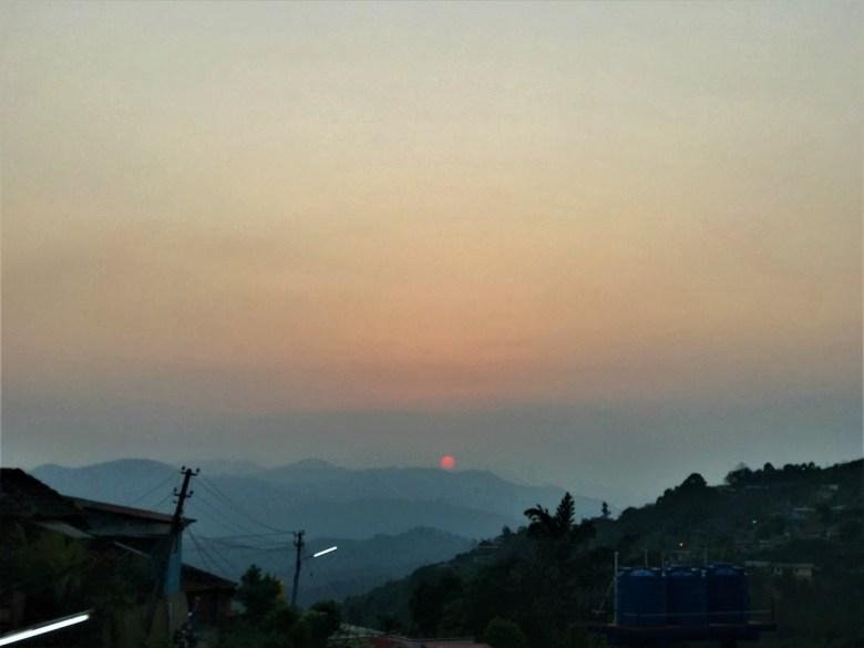 Final Goodbye-Sunset At Madikeri Coorg
