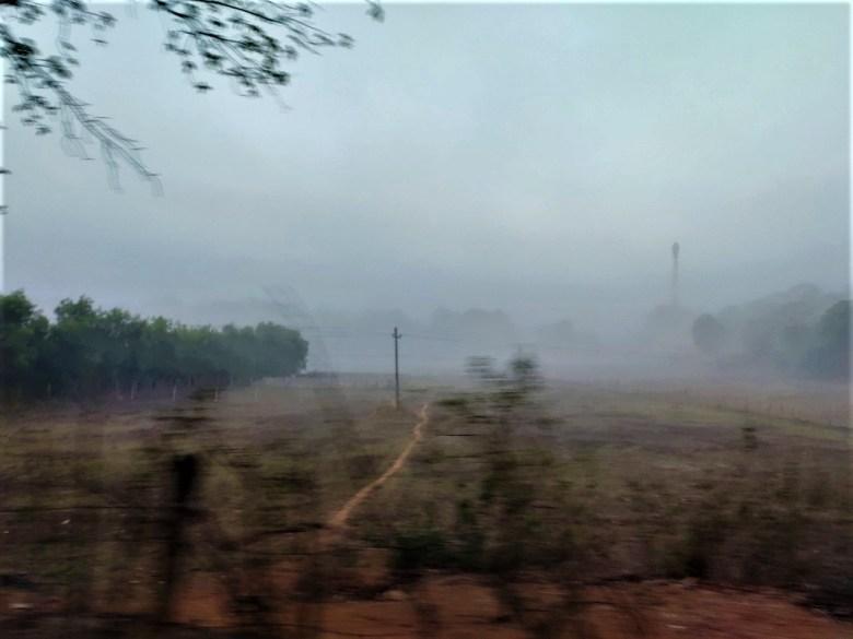 Foggy Morning Near Sirsi