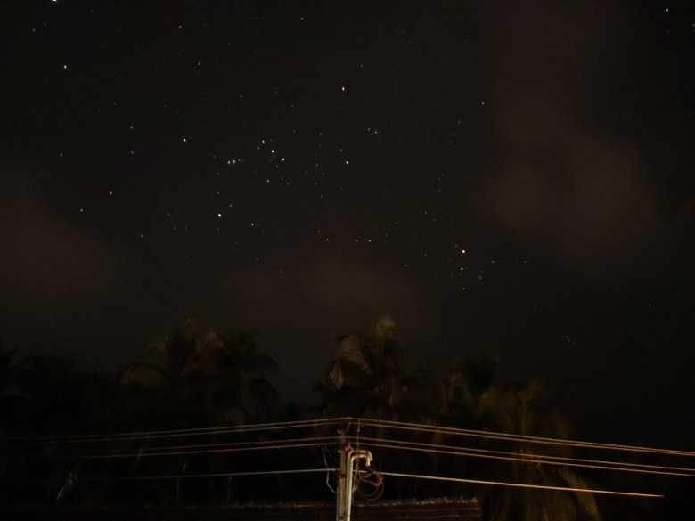 Starry Sky At Udupi Airbnb