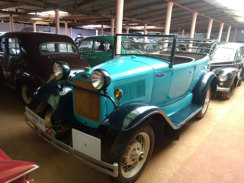 Vintage Car Museum Siddapura In Coorg