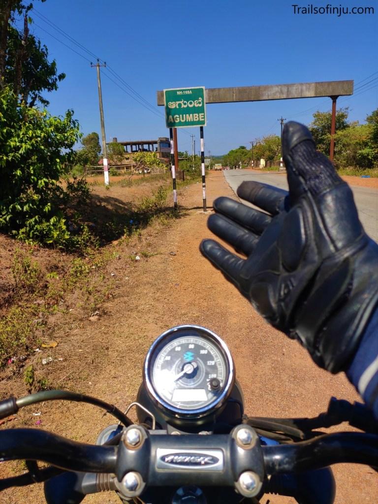 Hello Agumbe From Inju