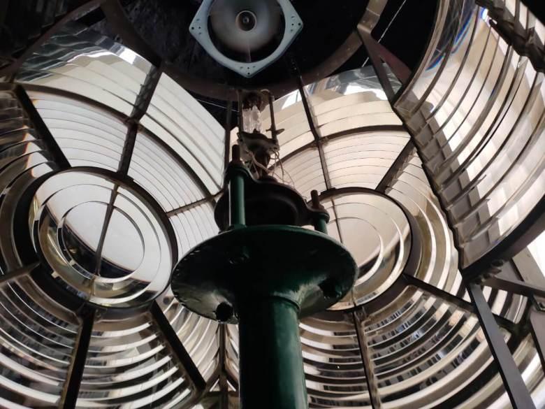 Lantern Panes Of Kapu Lighthouse