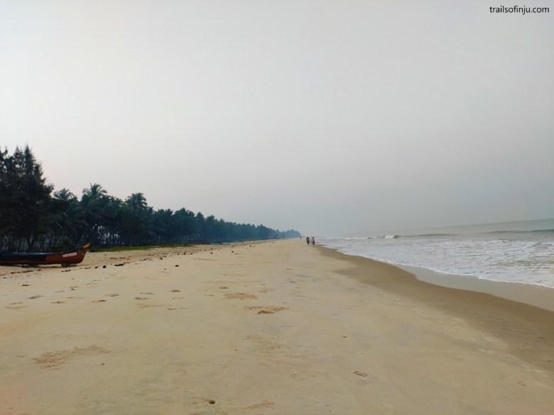 Morning Stroll On Hoode Beach, Udupi