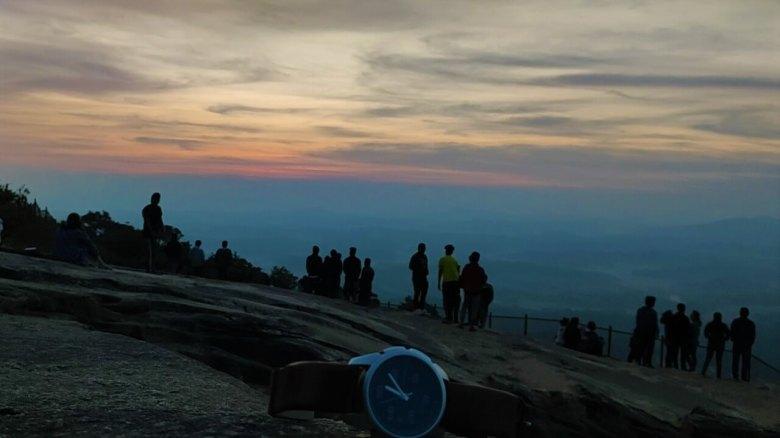 Sunrise At Kundadri Hill, Agumbe