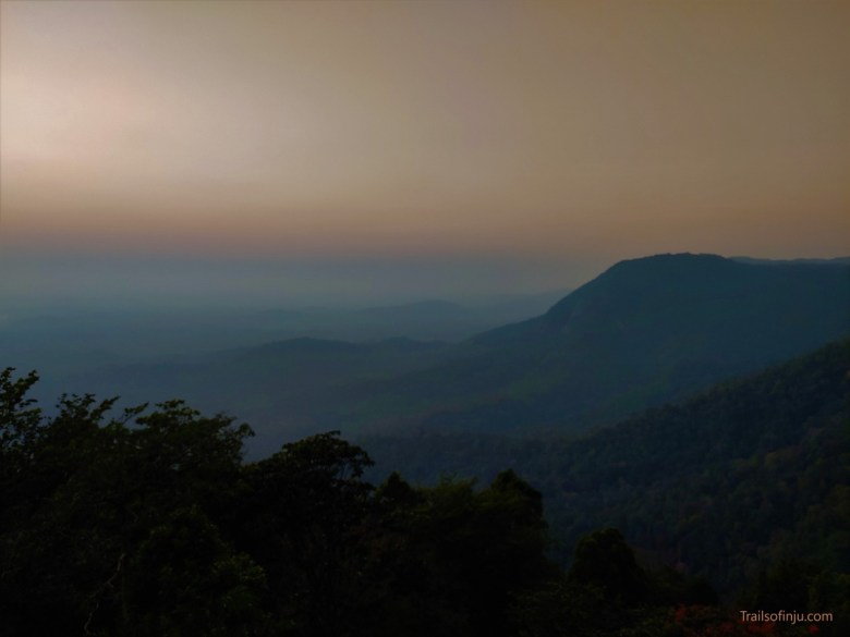 Sunset Landscapes In Agumbe