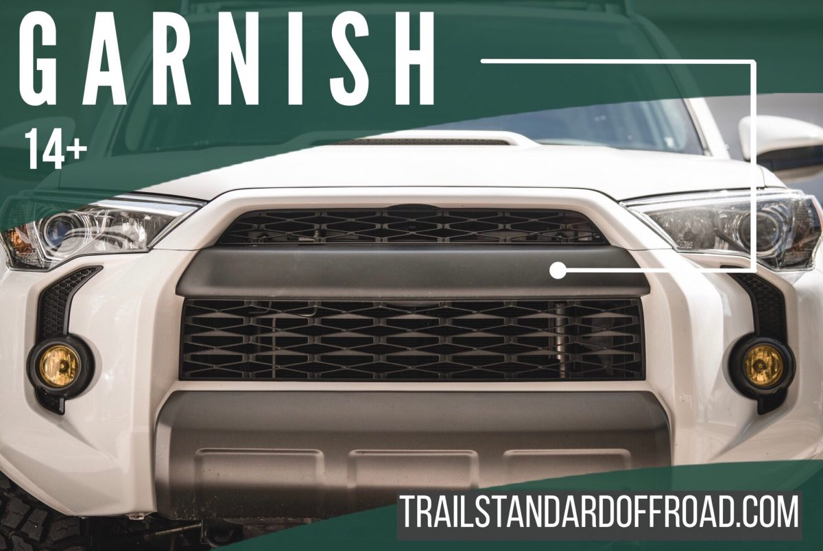 TSO PRO 5TH GEN 4RUNNER GRILLE COVER  TRAIL STANDARD OFFROAD