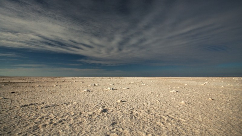 Salt and Sky, Stansbury Island, Utah
