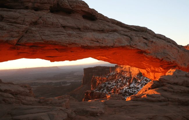 Mesa Arch Sunrise Canyonlands