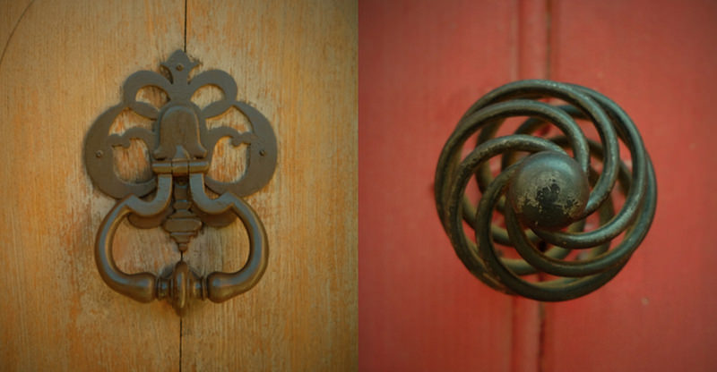 French Doorknobs