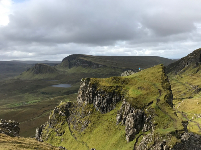 Hidden plateaus of the Quiraing.