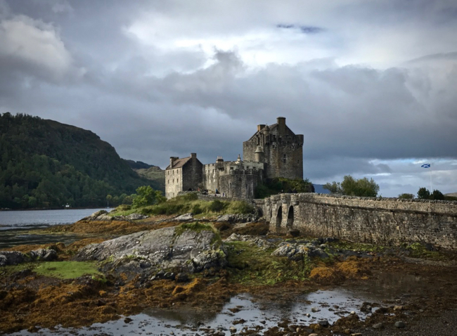 Also known as the Eilean Donnain in Scottish Gaelic.