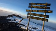 Tanzania-Mt-Kilimanjaro-Summit-Sign-Sunrise