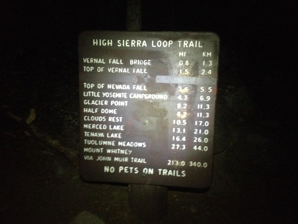Yosemite Half Dome Hike