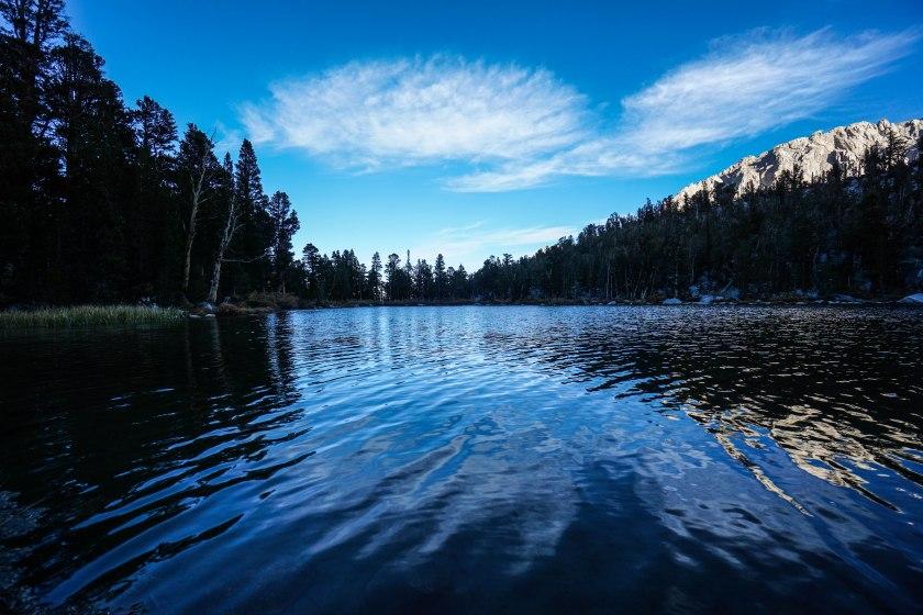 Dusk on Flower Lake