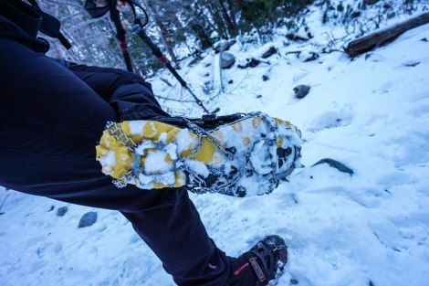 In Use on the La Sportiva Crossover 2.0 GTX