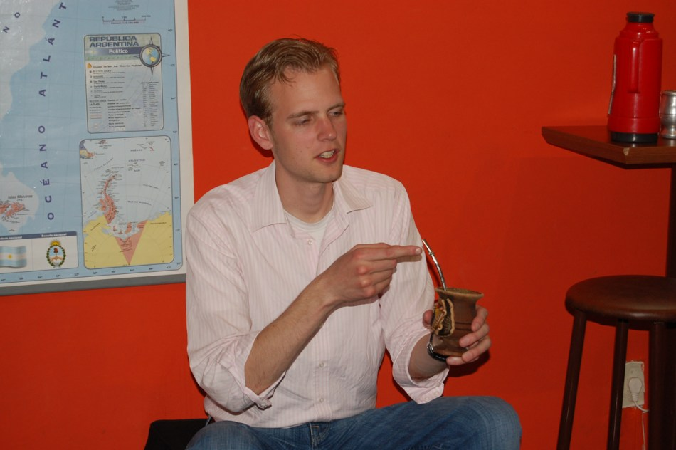 Michiel with Mate