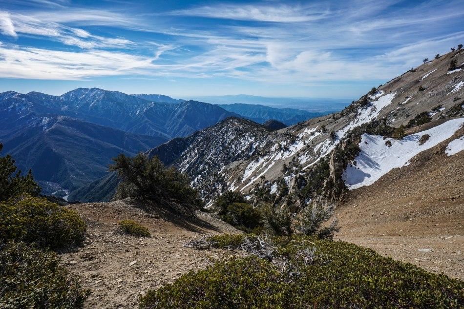 Mt. Baden Powell via Vincent Gap