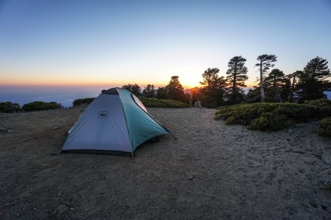 Cucamonga Peak Overnight
