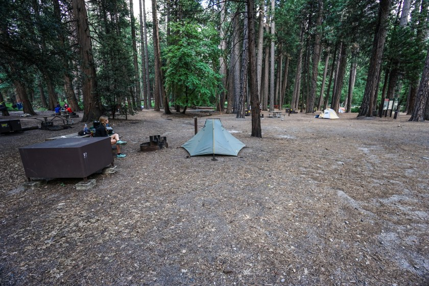 Yosemite Backpacker's Camp