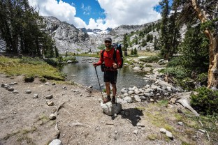 John Muir Trail Day 2: Tuolumne Meadows to Thousand Island Lake