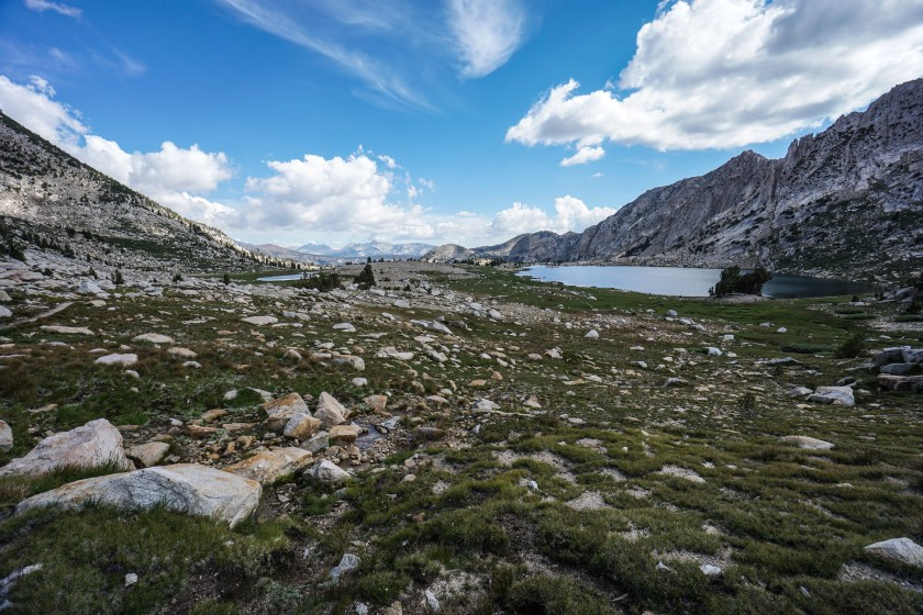 John Muir Trail Deer Creek to Silver Pass Lake