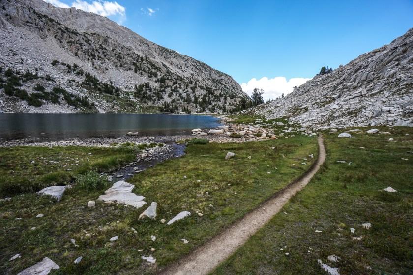 John Muir Trial Evolution Lake and Muir Pass