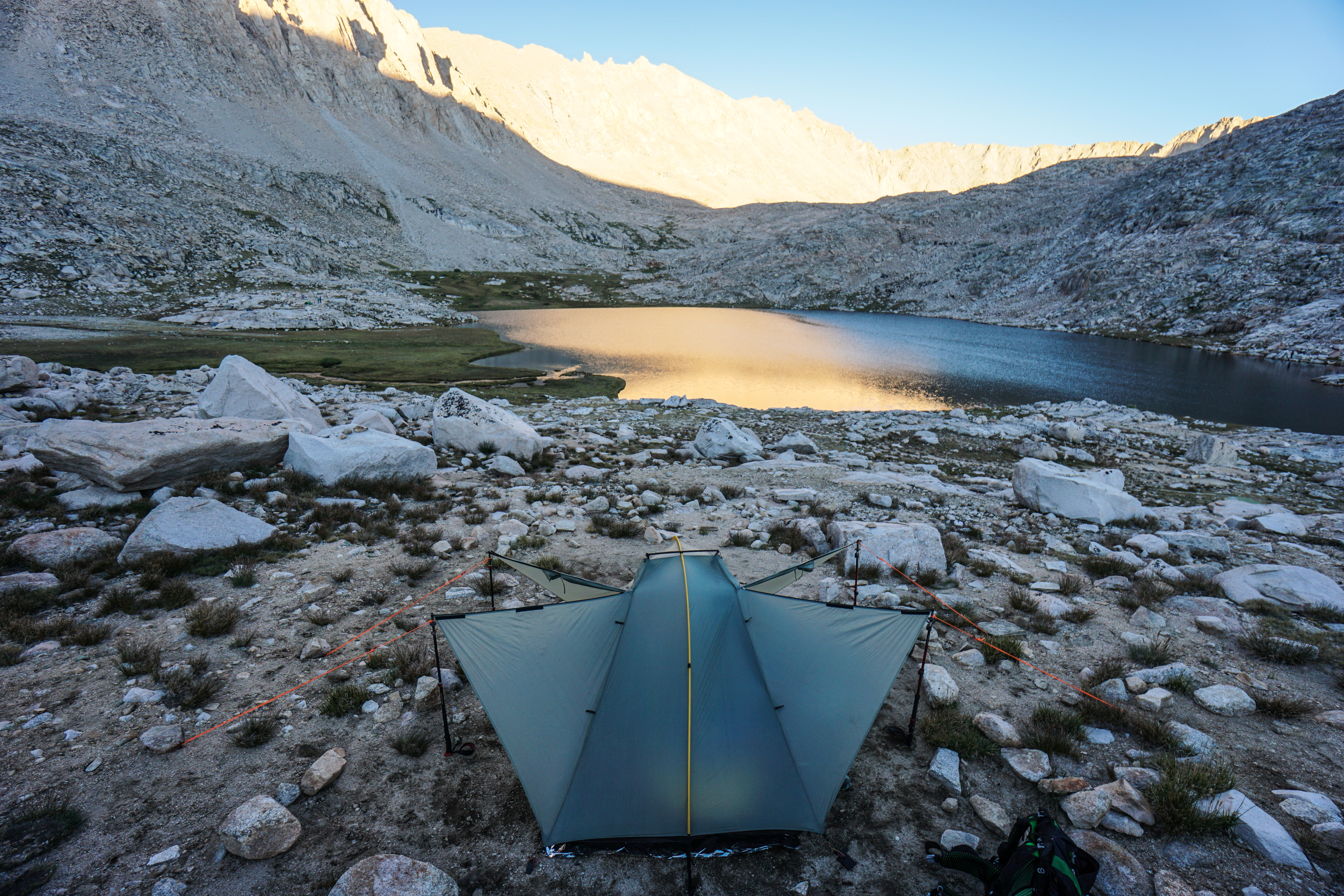 John Muir Trail Forester Pass Guitar Lake