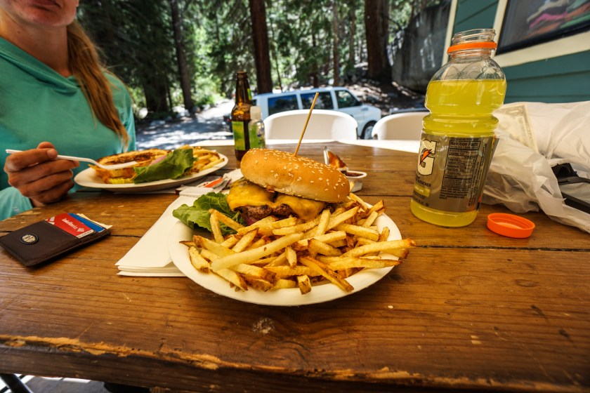 Whitney Portal Burger