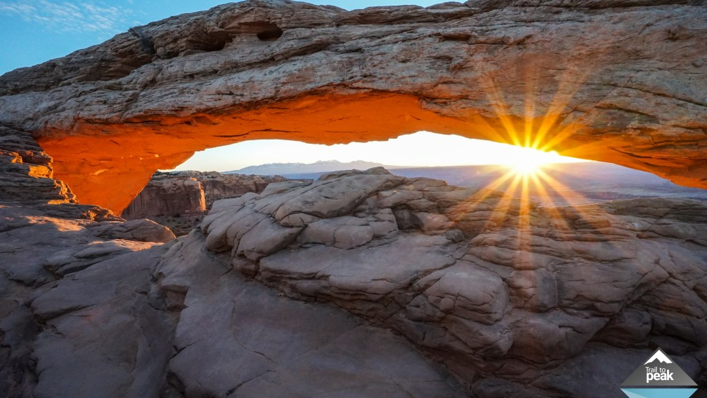 Canyonlands National Park: Sunrise At Mesa Arch, Upheaval Dome, and White Rim Overlook