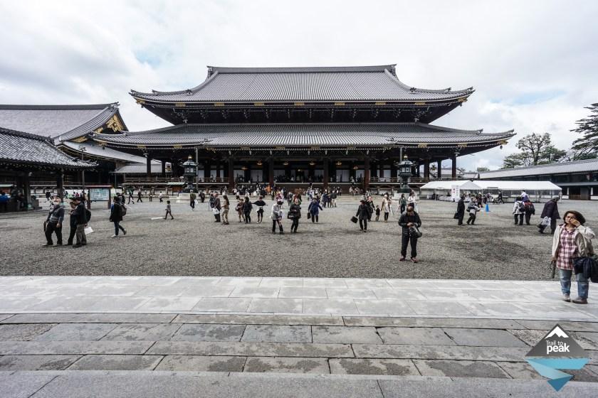 Nishi Hongangi Temple Kyoto Central Kyoto Eastern Kyoto