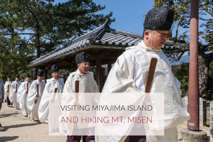 A Shinkansen Bullet Train, Miyajima Island, And Hiking Mt. Misen
