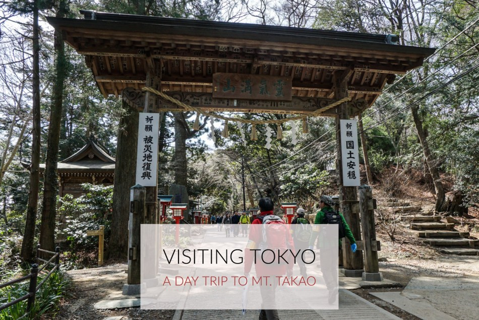 Hiking Mt. Takao And A Visit To Shinjuku