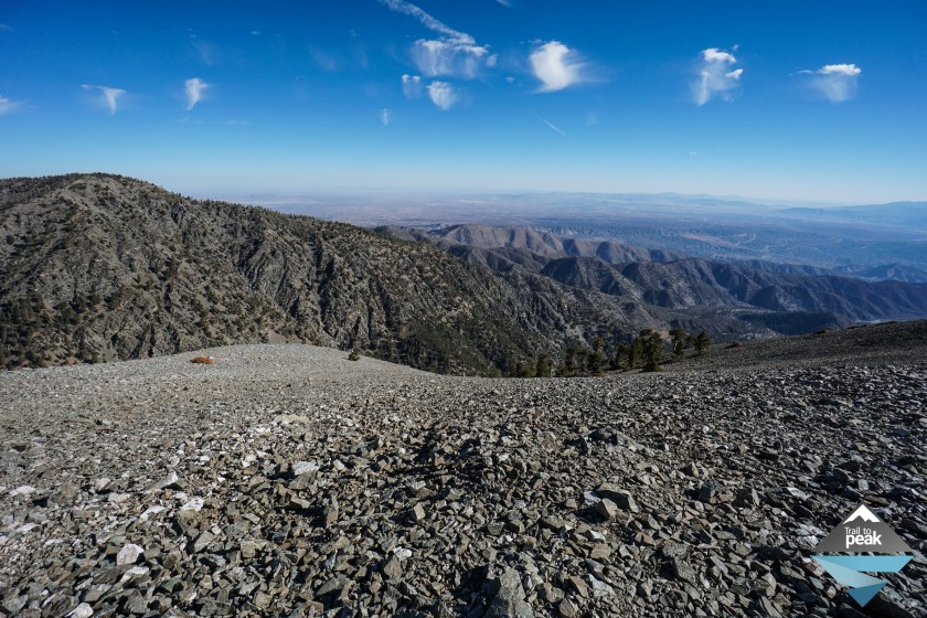 Hiking Register Ridge To Mt. Baldy And Mt. Harwood