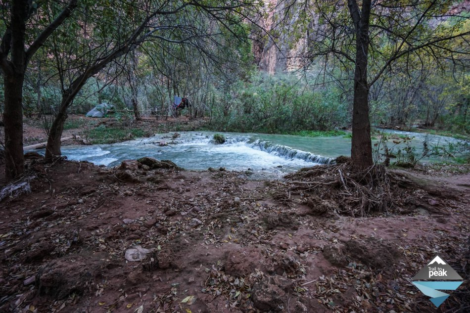 Hiking From Supai Village To Navajo, Havasu, and Mooney Falls Havasupai Falls