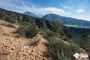 Guide To Hiking Potato Mountain's East Face Via Evey Canyon Trail