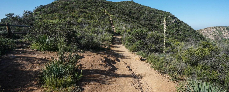Hiking Kwaay Paay Peak Mission Trail Regional Park