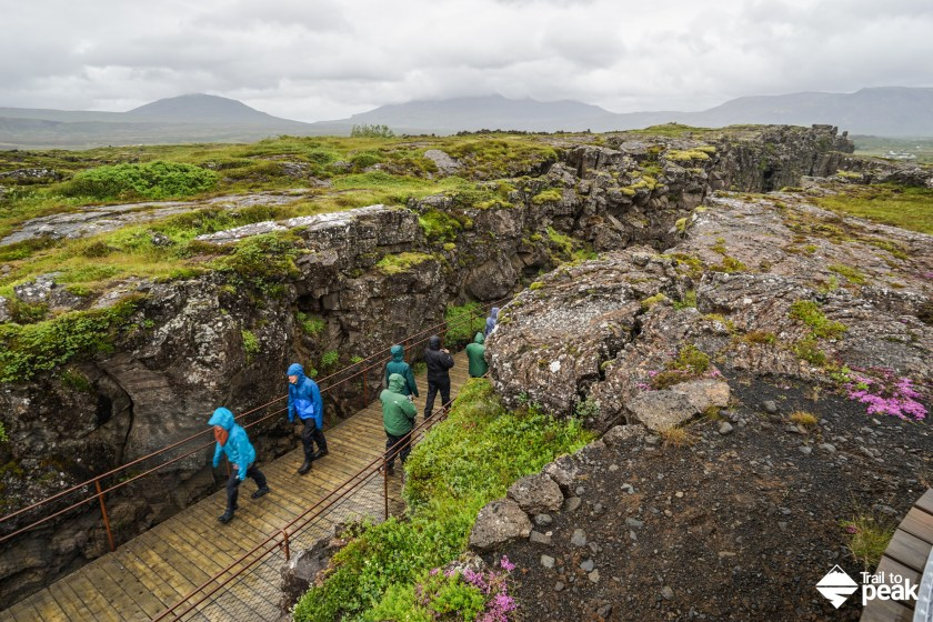 Driving Iceland's Golden Circle Þingvellir