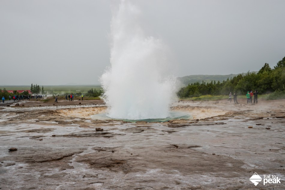 Driving Iceland's Golden Circle Geysir