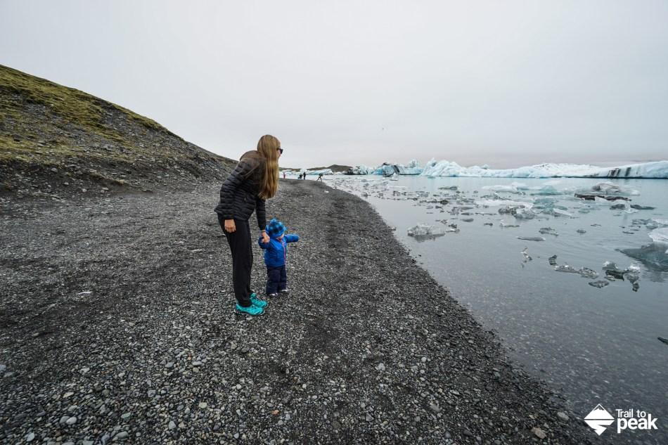 Southeast Iceland Ring Road Jokulsarlon Seljalandsfoss Skógafoss Sólheimasandur
