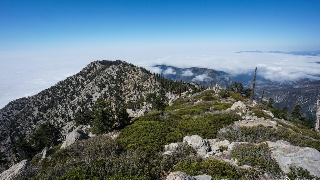 Hiking Falling Rock Canyon To Sugarloaf And Ontario Peak
