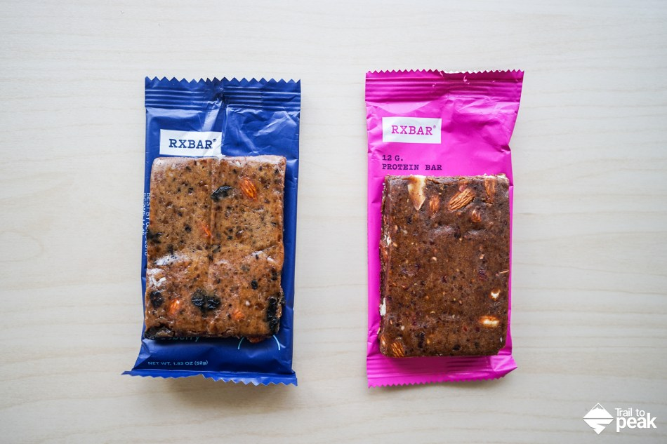 RXBAR Whole Food Protein Bar Review Hiking Backpacking