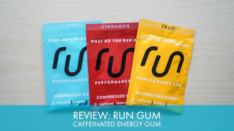 Review: Run Gum Caffeinated Energy Gum