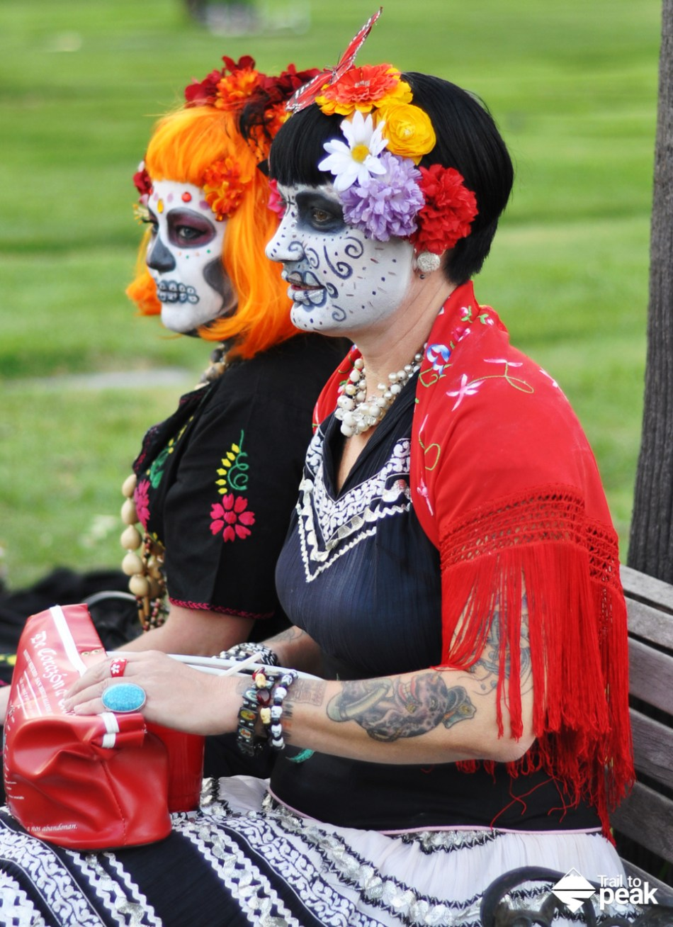 20 Dia De Los Muertos Portraits From Hollywood Forever Cemetery