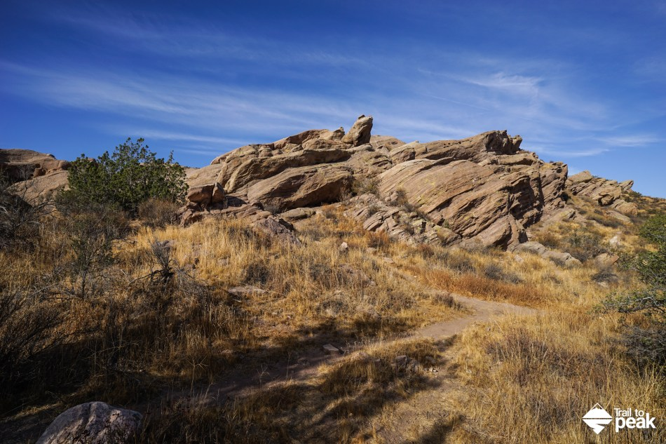 Hiking Around Vasquez Rocks Natural Area Park