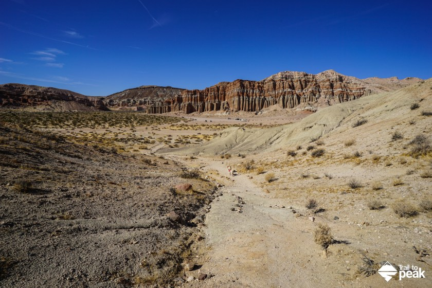 Hiking The Red Cliffs Nature Trail - Red Rock Canyon State Park