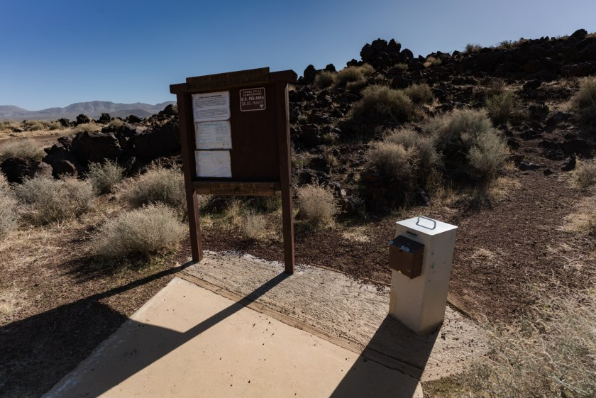 Hiking And Camping At Fossil Falls