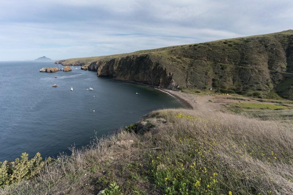 Hiking Scorpion Bay to Cavern Point Loop - Santa Cruz Island