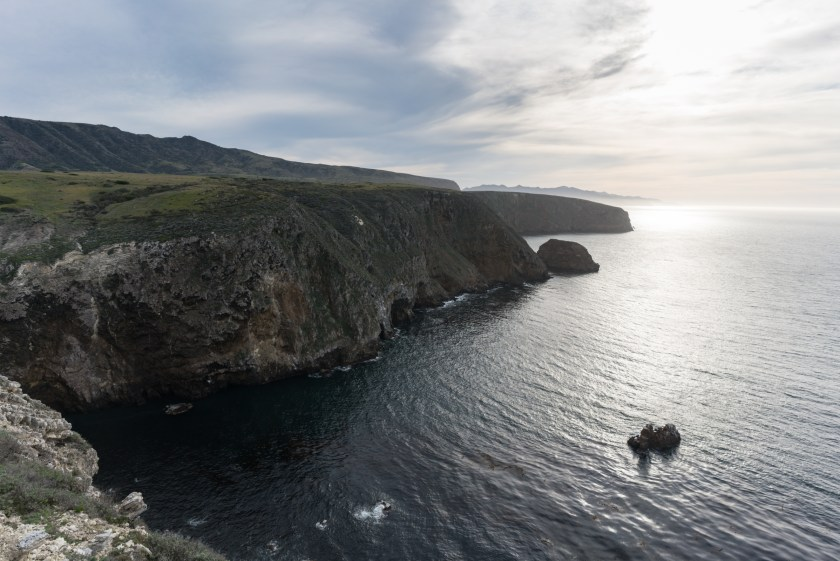 Hiking Scorpion Bay to Cavern Point Loop - Santa Cruz Island