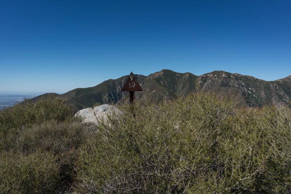 Hiking Stoddard Peak via Barrett Stoddard Road - Mt. Baldy, CA